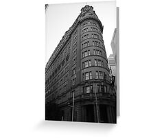History in building  Greeting Card