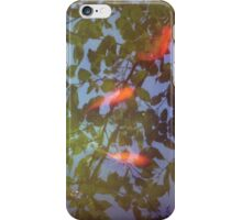 Swimming in Leaves iPhone Case/Skin