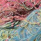 Corfician fishing nets  by Christopher Cullen