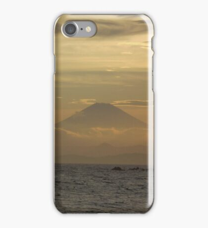 Mt. Fuji Sunset I iPhone Case/Skin