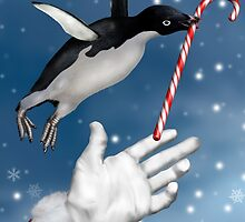Christmas Penguin by Paul Fleet