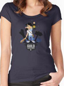 Girl Adventurer Women's Fitted Scoop T-Shirt