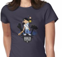 Girl Adventurer Womens Fitted T-Shirt