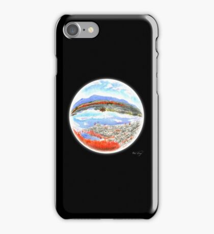 Landscape in a Ball iPhone Case/Skin