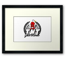 TNT Gear Review tee Framed Print