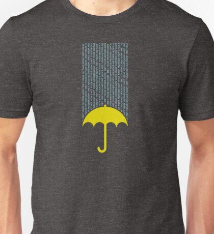 How I Met Your Mother (dark background) Unisex T-Shirt
