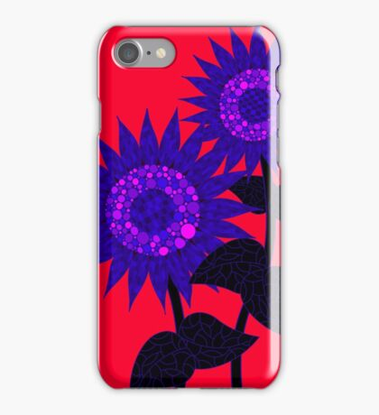 Surreal Sunflowers iPhone Case/Skin