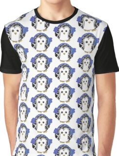 Penguin with Earmuffs Graphic T-Shirt