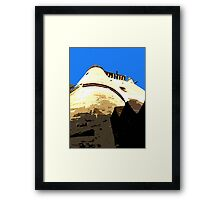 CASTLE IN THE SKY Framed Print