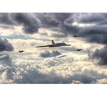 Avro Vulcan And The Gnat Display Team Dunsfold 2014 - HDR Photographic Print