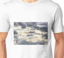 Avro Vulcan And The Gnat Display Team Dunsfold 2014 - HDR Unisex T-Shirt