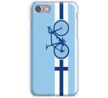 Bike Stripes Finland iPhone Case/Skin