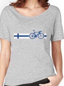 Bike Stripes Finland Women's Relaxed Fit T-Shirt