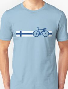 Bike Stripes Finland Unisex T-Shirt