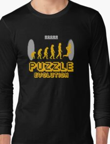Puzzle Evolution Long Sleeve T-Shirt