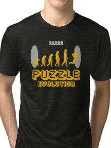 Puzzle Evolution Tri-blend T-Shirt
