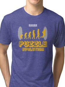 Puzzle Evolution Tri-blend T-Shirt