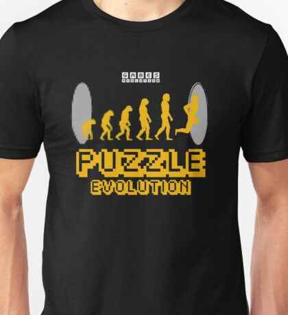 Puzzle Evolution Unisex T-Shirt