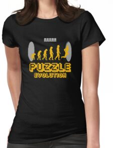 Puzzle Evolution Womens Fitted T-Shirt