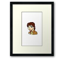 Cassian Andor from Star Wars Rogue One Framed Print