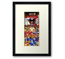 Mega Man 3 Framed Print