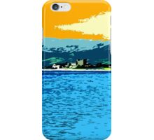 GREENCASTLE BY THE SEA iPhone Case/Skin