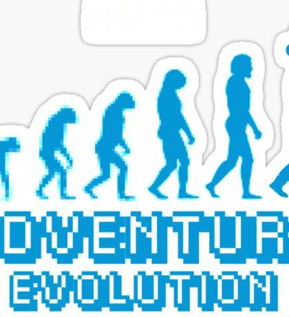 Adventure Evolution Sticker