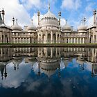Brighton Pavilion - reflection  by Kevin  Poulton
