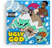 "Ugly God ""Water""  Canvas Print"