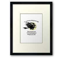 'Tis Now The Witching Time Of Night Framed Print