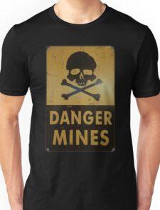 DANGER MINES Unisex T-Shirt