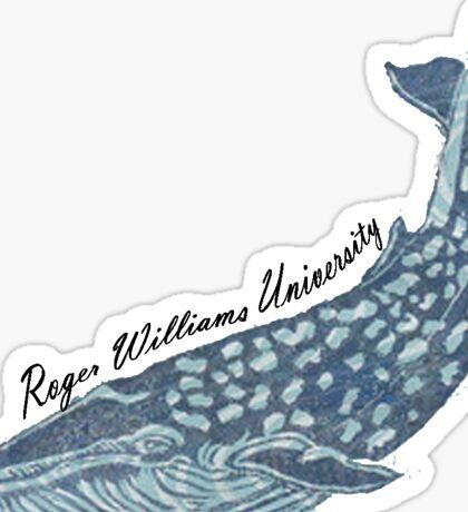 RWU Whale Sticker