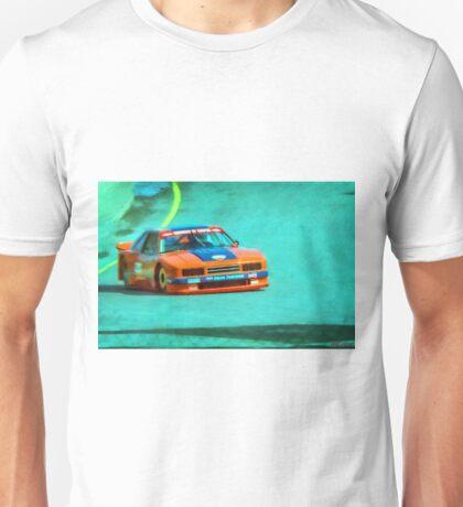 Early 1980s Mercury Capri SCCA Trans-Am racer Unisex T-Shirt