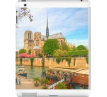 Notre Dame & the River Seine iPad Case/Skin