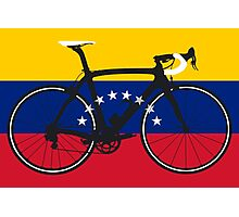 Bike Flag Venezuela (Big - Highlight) Photographic Print