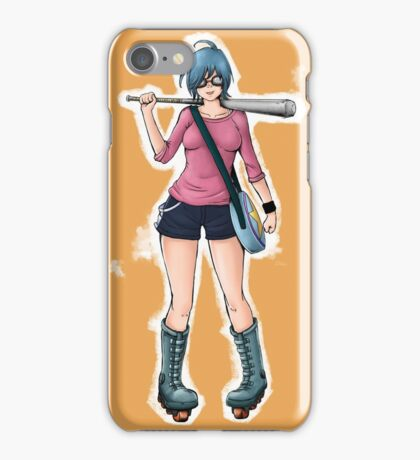 "Ramona Flowers - ""+1 Against Blondes"" iPhone Case/Skin"