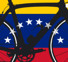 Bike Flag Venezuela (Big - Highlight) Sticker
