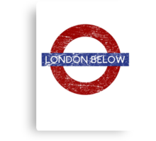 London Below Canvas Print