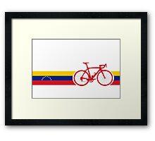 Bike Stripes Venezuela  Framed Print