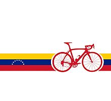 Bike Stripes Venezuela  Photographic Print