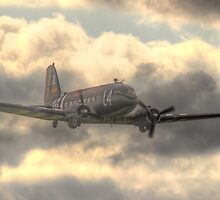 The Douglas C-47 Skytrain - Wings And Wheels 2014 - HDR by Colin  Williams Photography