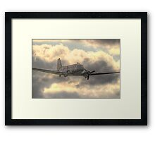 The Douglas C-47 Skytrain - Wings And Wheels 2014 - HDR Framed Print