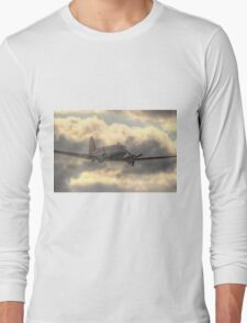The Douglas C-47 Skytrain - Wings And Wheels 2014 - HDR Long Sleeve T-Shirt