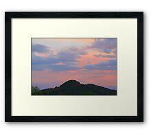 Sunset Knoll  Framed Print