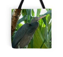 Heron in Paradise Tote Bag