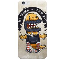 Unqualified Guest Worker is Looking for Job iPhone Case/Skin