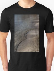 Lakeshore Tranquility - the Slowly Curling Wave T-Shirt