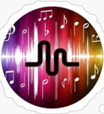 Musical.ly Sticker