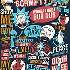 Rick & Morty Quotes by Emma Meijer