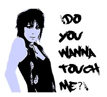 Joan Jett - 'Do You Wanna Touch Me?' by Lisa Briggs